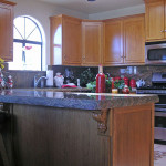 Traditional Kitchen in Hickory