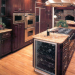 Winer Cooler in Traditional Kitchen